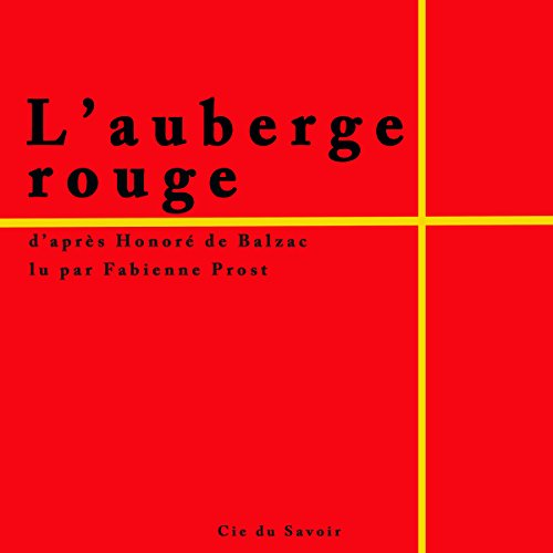 L'auberge rouge audiobook cover art