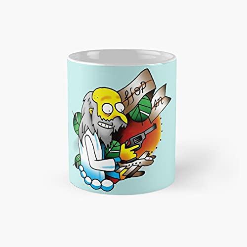 Taza clásica Hop in Best Gift Funny Coffee Tazas 11 oz