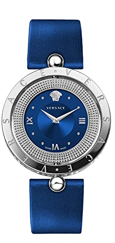 Versace EON VE79002 20 - Reloj de pulsera para mujer (33,6 mm), color negro