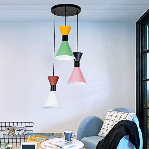 no-branded Sygjal LED de la lámpara de la Sala de Estar Restaurante Bar Cafe de la Personalidad Creativa de iluminación