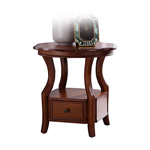 Bureau DD houten 1 lade nachtkastje slaapkamer nachtkastje -werkbank