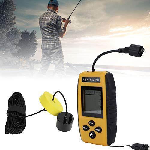 Les-Theresa, portátil, de Mano, con Cable, Sensor de sonda, Detector ultrasónico, Detector de Peces, Accesorio de Pesca