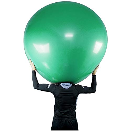 HUQUAN 48 Inch Balloons, Latex Climb in Balloon Latex Balloon Thickened Extra Large & Thick Balloons Reusable Giant Latex Balloons for Party Home