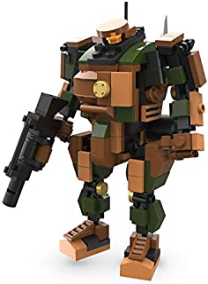 MyBuild Mecha Frame Robot Bricks Construction Blocks Toy Figure Sci-Fi Series (Sergeant 5011)