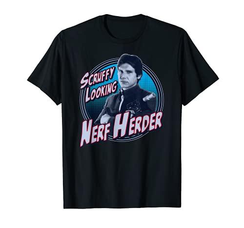Star Wars Han Solo Scruffy Nerf Herder Graphic T-Shirt