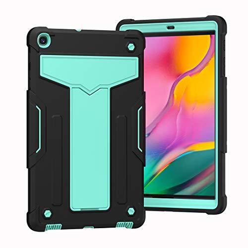 ZHIWEI Tablet PC Tasche Fall für Galaxy Tab A 10.1 2019, robuster schockfester Fallschutzabdeckung mit TITTHAND-Dreischicht-Hybrid-Ganzkörper-Hülle für Samsung Galaxy Tab A 10.1 2019 T510 / T515