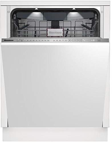 Blomberg DWT81900FBI 24 Inch Smart Built In Dishwasher with 9 Wash Cycles, 16 Place Settings, in Panel Ready
