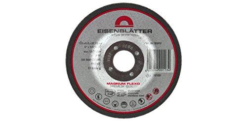 Eisenblätter A00214 MAGNUM FLEXO Schruppscheibe, 125 x 22,2 mm, 6,0 mm stark, 10 Stück