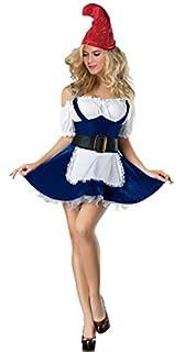 KOOLEE Gnome Costume Women Halloween
