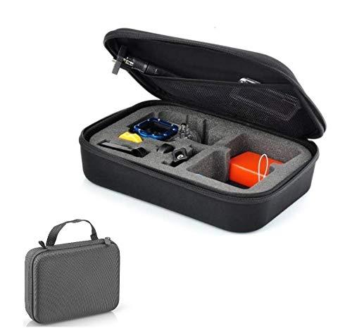 Mfs Myfuturshop Estuche de Transporte Universal. Maletín para cámaras de acción y Deportivas. Accesorios compatibles incluidos.