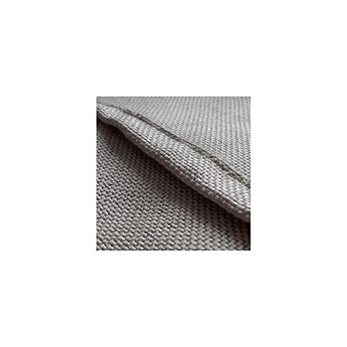 Toile anti chaleur 550°C 1 x 2 m - bâche ignifugée M0 - Couverture protection soudure