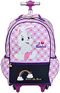 ROCO Bag KNAPSACK TROLLEY 16 with pencil case
