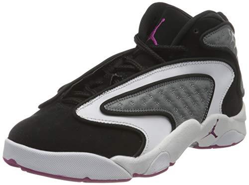 Nike Damen WMNS Air Jordan Og Basketballschuh, Black/Cactus Flower-Smoke Grey-White, 36.5 EU