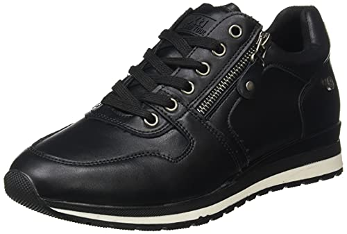XTI 43313, Zapatillas Mujer, Negro, 36 EU
