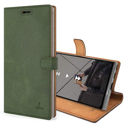 Snakehive Vintage Wallet for Samsung Galaxy Note 10 || Real Leather Wallet...