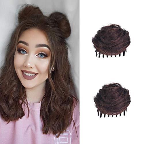 Clip-in Messy Bun Hair Piece, Messy…