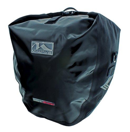 M-Wave Toronto, bagagedragertas, zwart, 2 x 20 l