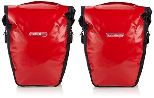 ORTLIEB(オルトリーブ) バックローラー シティ レッド 40L(ペア) サイドバッグ 【並行輸入品】F5001