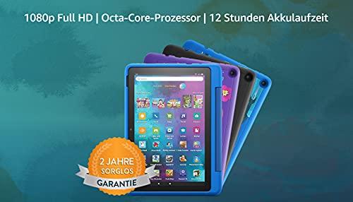 """Neu: das Fire HD 10 Kids Pro-Tablet   Ab dem Grundschulalter   25,6 cm (10,1 Zoll) großer Full-HD-Bildschirm (1080p), 32 GB, kindgerechte Hülle mit """"Graffiti""""-Design"""