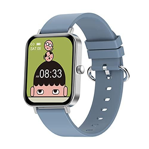 zyz CF82 Smart Watch para Hombres 1.69 Pulgadas, IP67 Impermeable, Ritmo Cardíaco Y Presión Arterial, Seguimiento De Fitness Pulsera Deportiva Pulsera,C