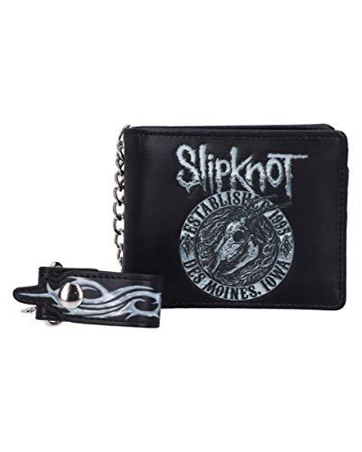 Horror-Shop Cartera De La Cabra En Llamas De Slipknot