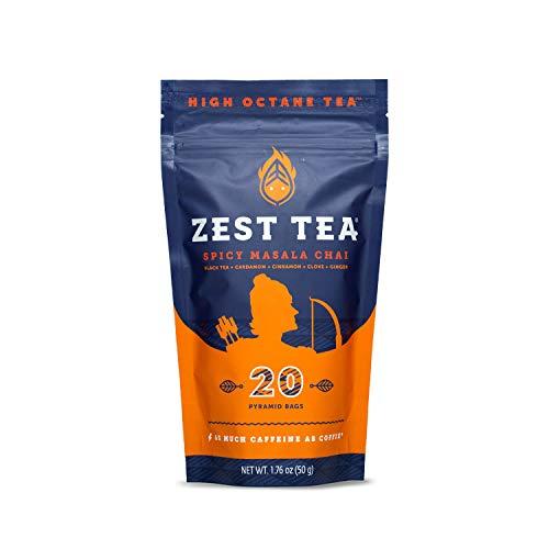 Zest Tea Energy Hot Tea,...