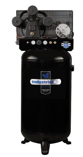 Industrial Air ILA4708065 80-Gallon Hi-Flo Single Stage Cast Iron Air Compressor
