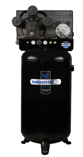 Industrial Air ILA4708065 80-Gallon Hi-Flo Single Stage Cast...