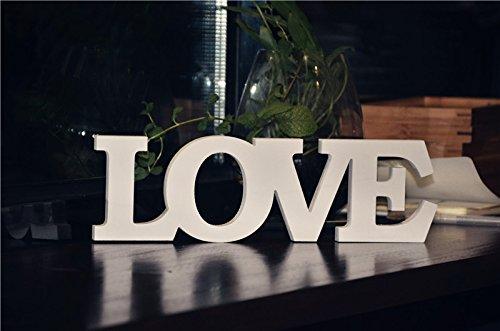 Palabra decorativa 'Love' Rainbow Fox, de PVC, palabras y letras de decoración bodas o regalo