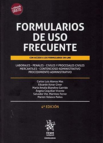 Formularios de uso Frecuente 4ª Ed. 2019 ✅