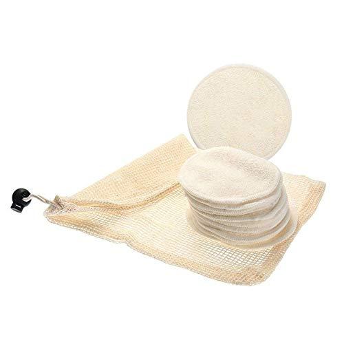 WWLZ Watte-Make-up-Entferner-Pads Wiederverwendbare weiche Gesichtspflege-Tücher Face Clean