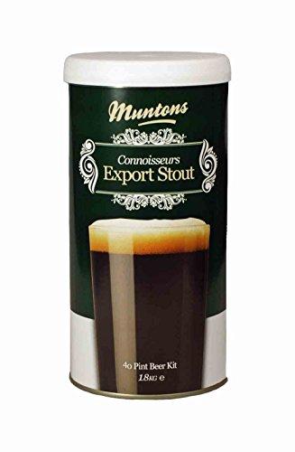 Muntons Connoisseur Export Stout - Kit de cerveza (1,8 kg)