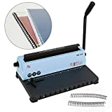 Binding Machine 34 Hole Puncher Manual Calendar Paper File Menu Punching Machine Spiral...