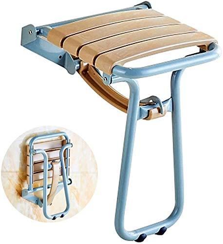 flycqb Chaise de Douche, siège de Douche Pliant pour Baignoire - Tabouret de Salle de Bain Mural avec Pieds de Support pour Senior, handicapé, Gain de Place, Blanc