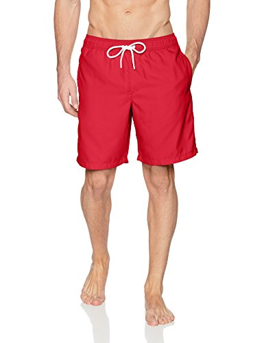 Amazon Essentials Herren Badeshort rot rot M