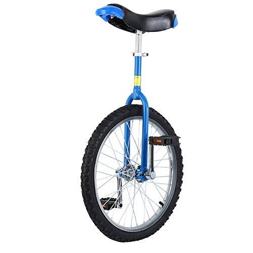 """Yonntech 16\""""/ 20\"""" Erwachsenentrainer Einrad höhenverstellbar Skidproof Butyl Mountain Reifen Balance Radfahren Heimtrainer Fahrrad (20\"""")"""
