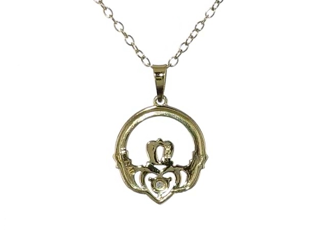 16-20 Mireval Sterling Silver Spider on Web Charm on a Sterling Silver Chain Necklace