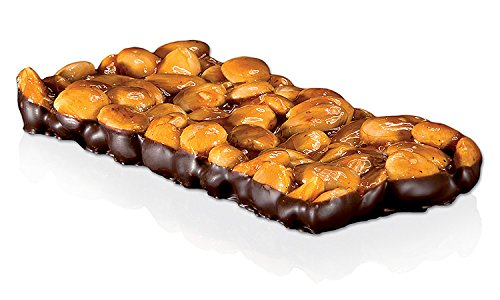 Vicens - Turrón Guirlache Almendra Chocolate Especial Alargado, 300 g