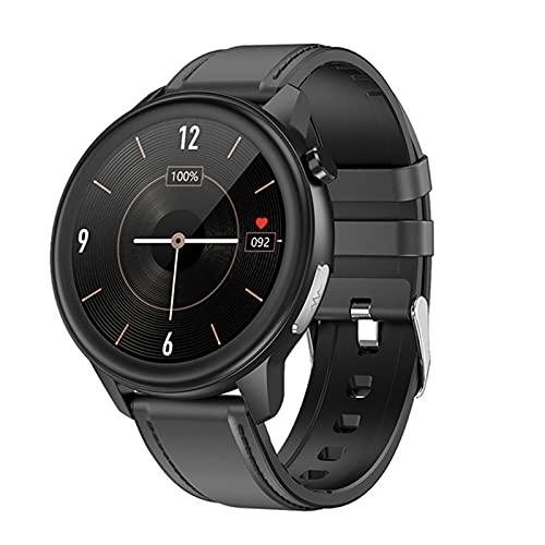 AKL Ladies Smart Watch Men's Smart Watch IP68 Reloj E80 Temperatura Temperatura Monitor de presión Arterial Sports Fitness Reloj Inteligente,C