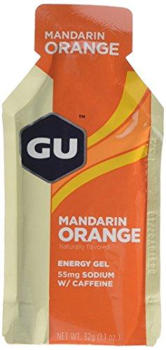 GU Mandarin Orange Flavour Energy Gels - Pack of 24