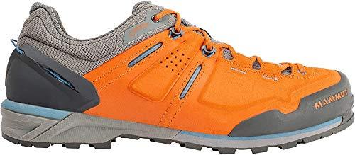 Mammut Alnasca Low GTX, Zapatillas de Senderismo para Hombre, Naranja (Dark Radiant/Grey 000), 40 EU