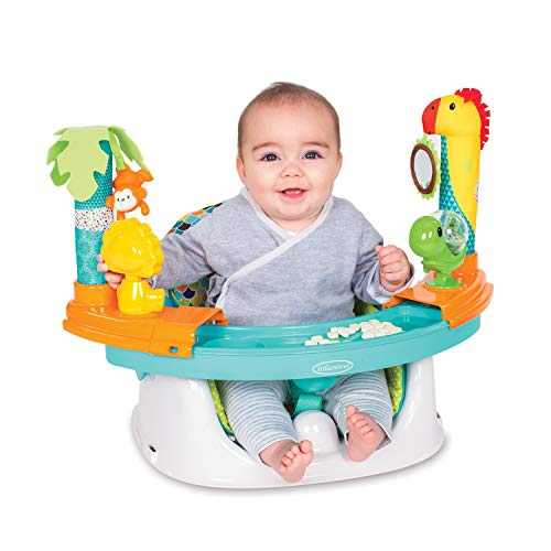 Infantino Grow-with-me Discovery Sitz & Sitzerhöhung, mehrfarbig