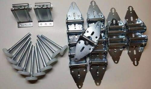 Learn More About Garage Door Hardware Kit - 16x7 or 18x7 - Quiet Rollers, Hinges, Brackets