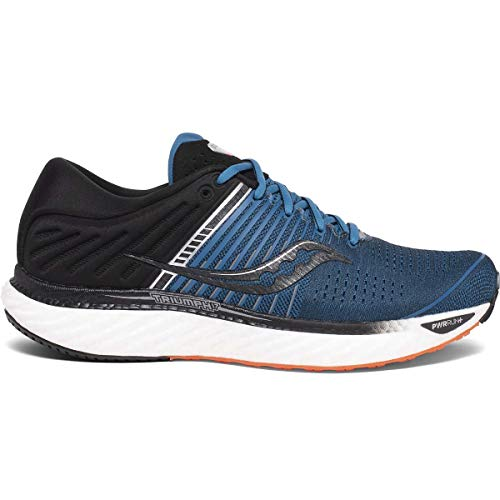 Saucony Men's Triumph 17, Blue/Black, 11 EE US