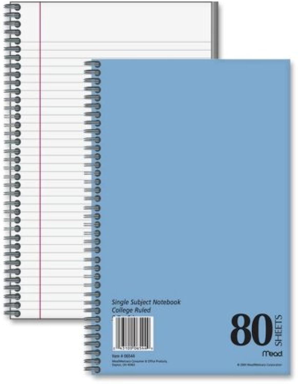 Großhandel von Fall von von von 25 – Mead 1-subject college-ruled notebooks-notebook, 1 Thema, College liniert, 80 Blatt, 9–1 5,1 x 15,2 cm werden B00BX9RNTI | Jeder beschriebene Artikel ist verfügbar  857a0b