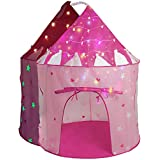 LimitlessFunN Kids Play Tent with Star Lights...
