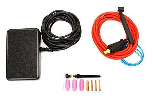 NOVA Tig Kit Accessory Kit compatible with Everlast PowerTIG 200DV /...