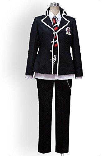 Cosplayonsen AO No Blue Exorcist Rin Okumura Cosplay Costume Full Set (Women XL)