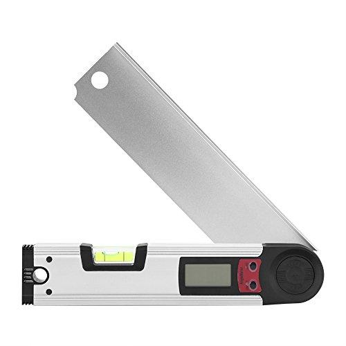 Medidor de ángulos digital Detector de �ngulo de Prolongador de 225 ° con LCD Retroiluminado para medición horizontal vertical