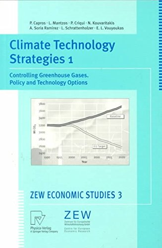 [(Climate Technology Strategies: Controlling Greenhouse Gases - Policy and Technology Options v. 1 : Controlling Greenhouse Gases. Policy and Technology Options)] [By (author) Pantelis Capros] published on (October, 1999)